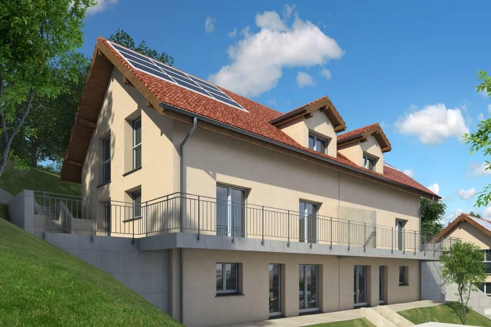Villa mitoyenne 6.5 pièces à Villars-Burquin