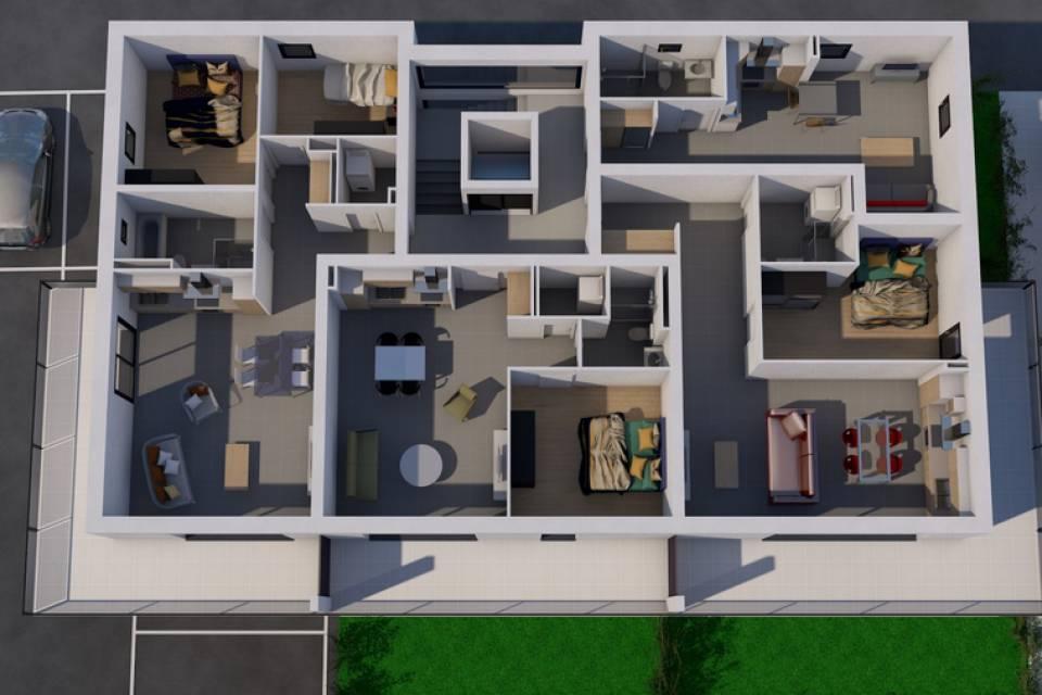 Appartement 3.5 pièces à Saxon