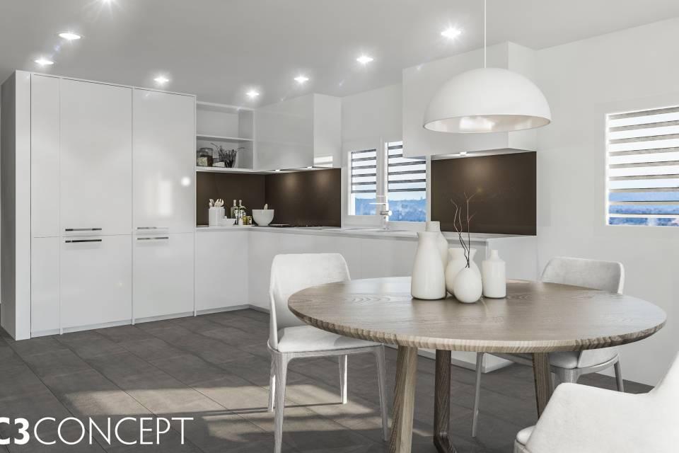 Villa contigüe 5.5 pièces à Vuisternens-devant-Romont