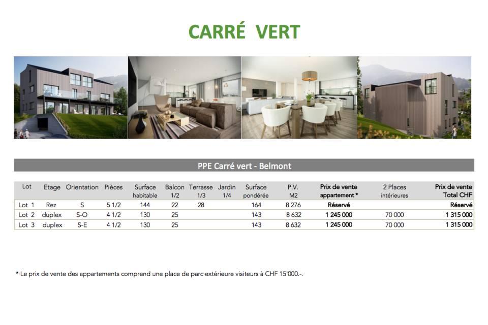 Appartement 4.5 pièces à Belmont-sur-Lausanne