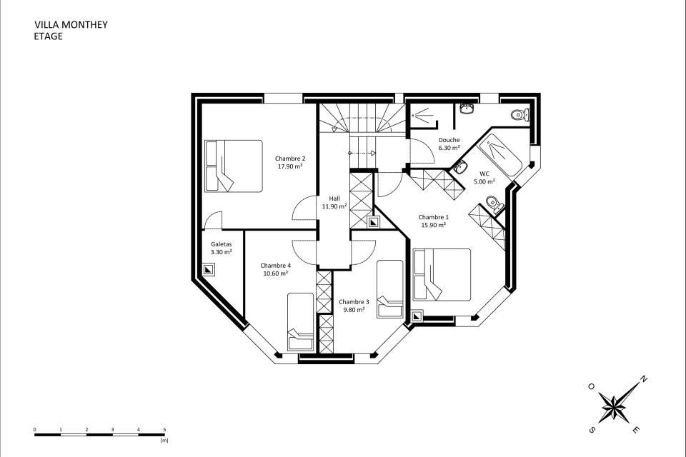 Villa Individuelle 7.5 pièces à Monthey