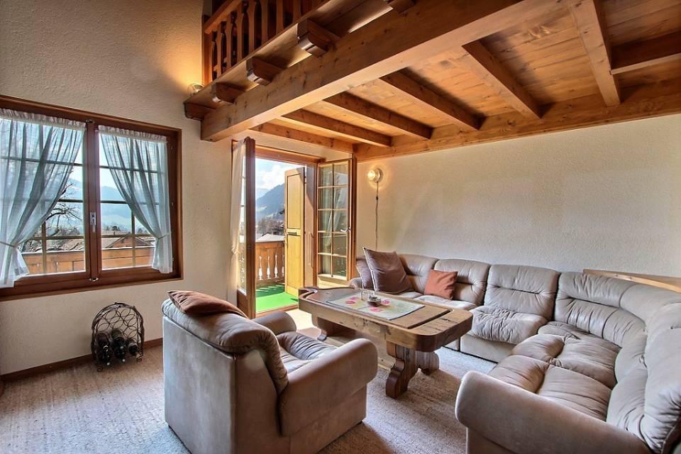 Appartement 3.5 pièces à Château-d'Oex