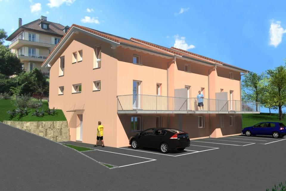 Villa contigüe 5.5 pièces à Orbe