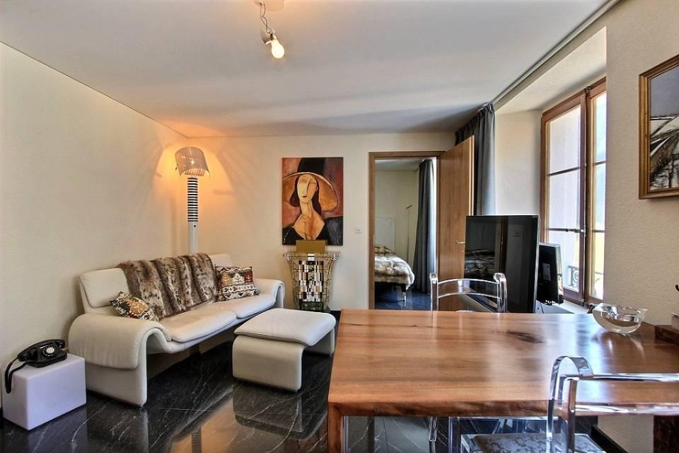 Appartement 2 pièces à Château-d'Oex