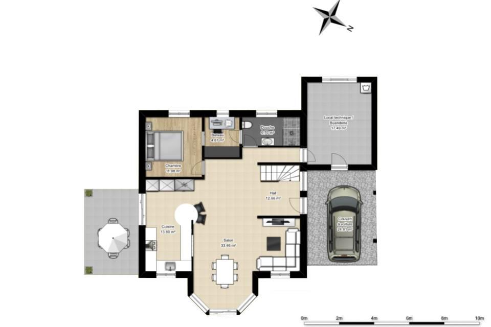 Villa Individuelle 5.5 pièces à Martigny-Croix