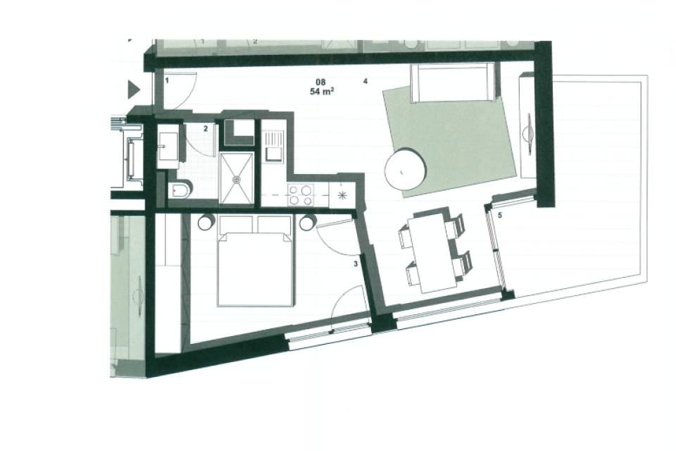 Appartement 2.5 pièces à Chalais