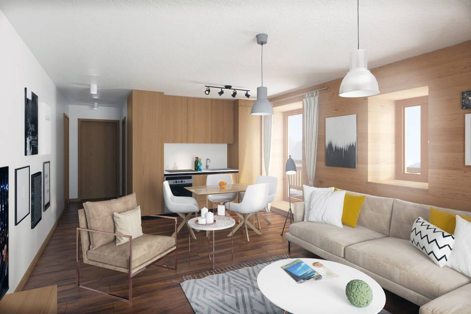 Appartement 3.5 pièces à Champéry