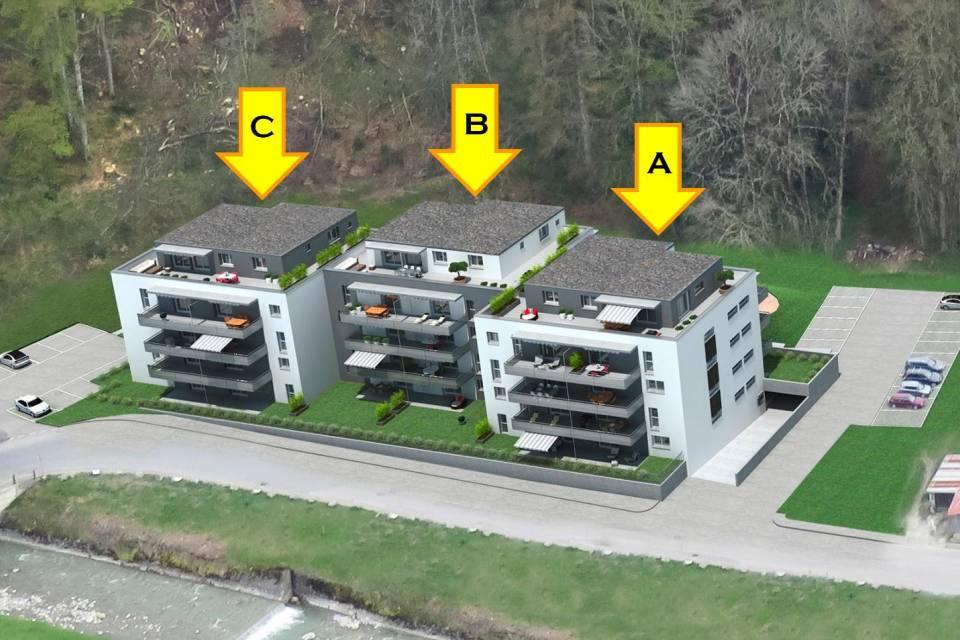 Appartement 3.5 pièces à Châtel-St-Denis