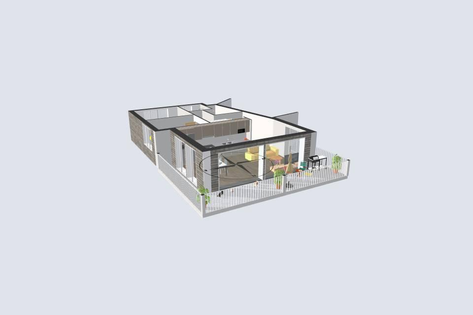 Appartement 3.5 pièces à Prarreyer (Versegères)