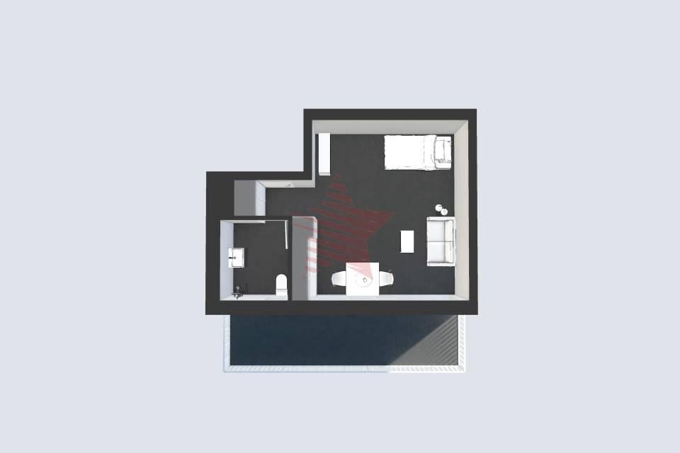 Appartement 1.5 pièces à Sion