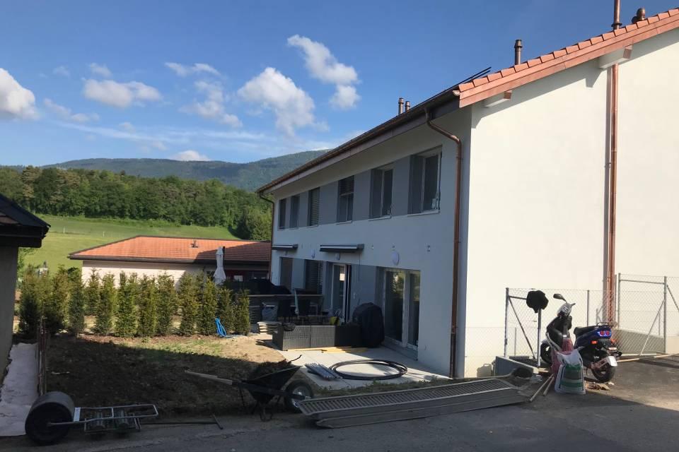 Villa mitoyenne 5.5 pièces à Montcherand