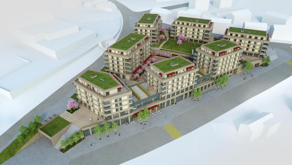 Appartement neuf à 2 pas de la gare de Romont