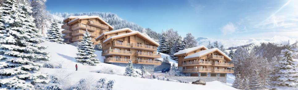 Flat 3.5 rooms in Châtel